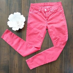 Hudson Watermelon Skinny Jeans 🍉